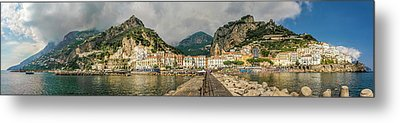 Metal Print featuring the photograph Amalfi by Steven Sparks