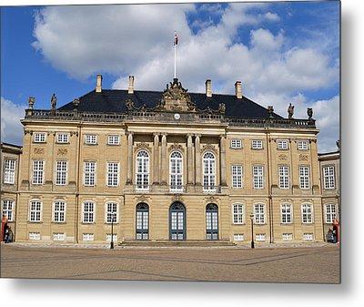 Amalienborg Palace. Metal Print