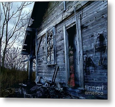 Amanda Metal Print by Tom Straub