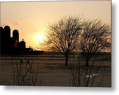 Amarillo Sunset Metal Print