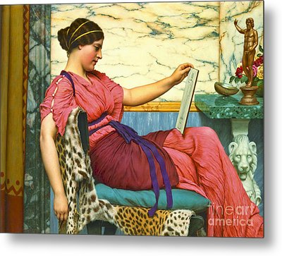 Amateur Artist 1915 Metal Print by Padre Art