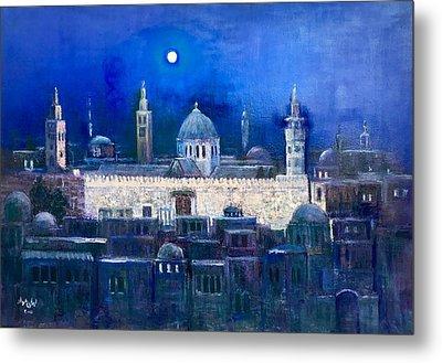 Amawee Mosquet  At Night Metal Print
