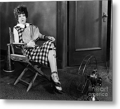 Amazing Mazie, 1925 Metal Print by Granger