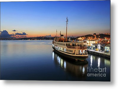 Sunrise Of Istanbul,turkey. Metal Print by Mohamed Elkhamisy