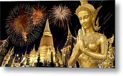 Amazing Thailand Metal Print by Anek Suwannaphoom