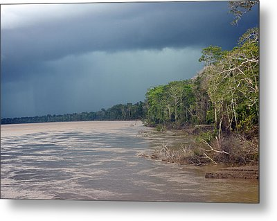 Amazonian Storm Study Number One Metal Print