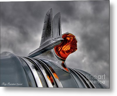 Metal Print featuring the photograph Amber Pontiac One by Trey Foerster