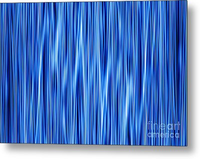 Metal Print featuring the digital art Ambient 8 by Bruce Stanfield