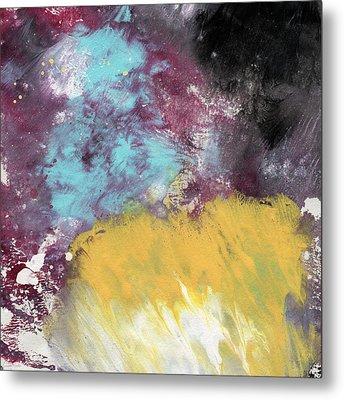 Ambrosia 5- Abstract Art By Linda Woods Metal Print by Linda Woods