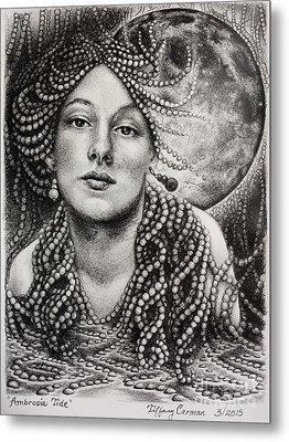 Ambrosia Tide Metal Print by Tiffany Carman