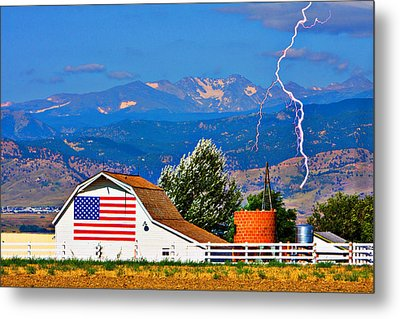 America The Beautiful Metal Print by James BO  Insogna