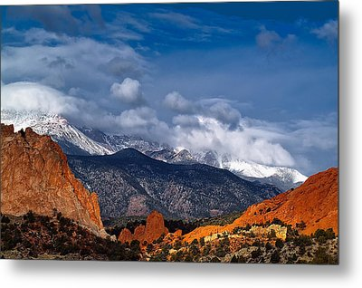 Metal Print featuring the photograph America The Beautiful by Tim Reaves