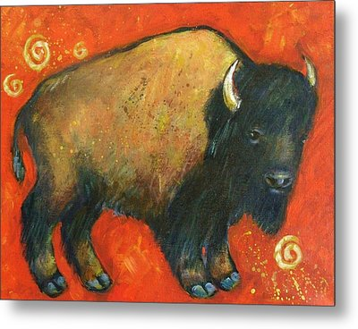 American Bison Metal Print by Carol Suzanne Niebuhr