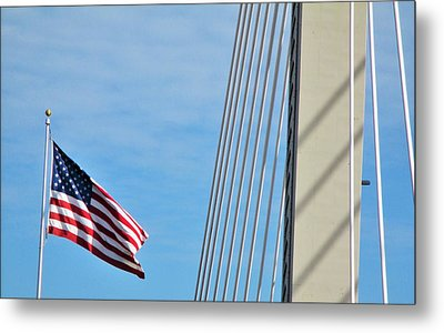 American Afternoon Metal Print by Martin Cline