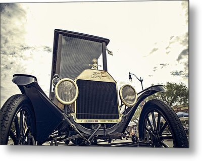 Metal Print featuring the photograph American Classic by Caitlyn  Grasso