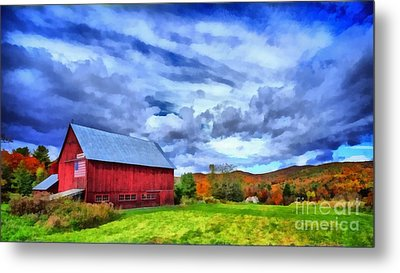 American Farmer Metal Print by Edward Fielding
