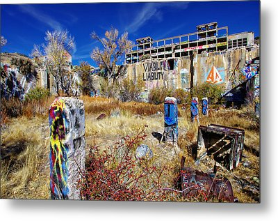 Metal Print featuring the photograph American Flat Mill Vc by Scott McGuire