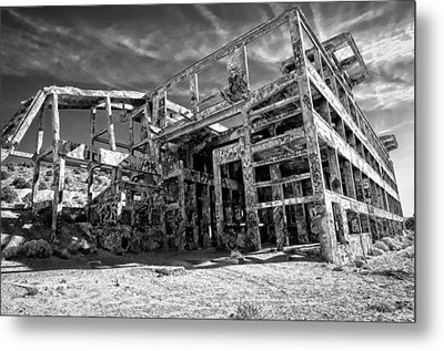 Metal Print featuring the photograph American Flat Mill Virginia City Nevada by Scott McGuire