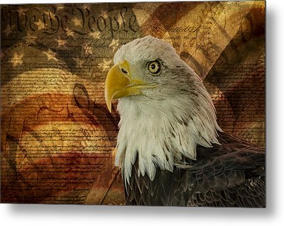 American Icons Metal Print by Susan Candelario
