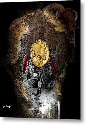American Indian Dreamcatcher 2 Metal Print by G Berry