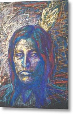 American Indian Metal Print