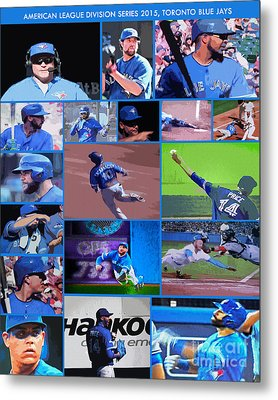 American League Division Series Champions 2015 Metal Print by Nina Silver