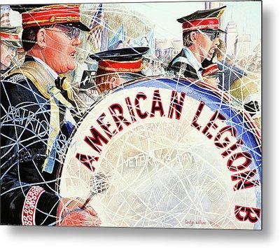 American Legion Metal Print by Carolyn Coffey Wallace