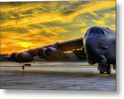 American Might Metal Print by JC Findley