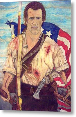 American Patriot Metal Print by Jose Cabral