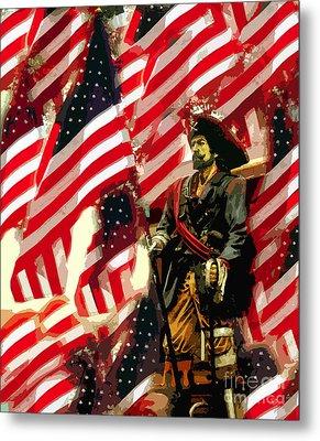American Pirate Metal Print by David Lee Thompson