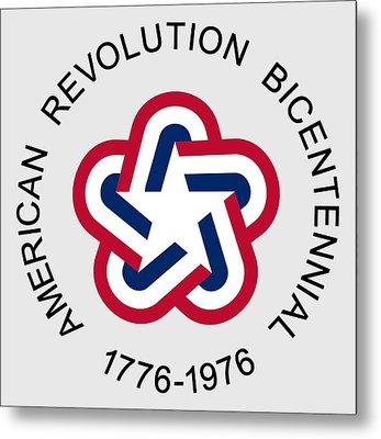 American Revolution Bicentennial Metal Print