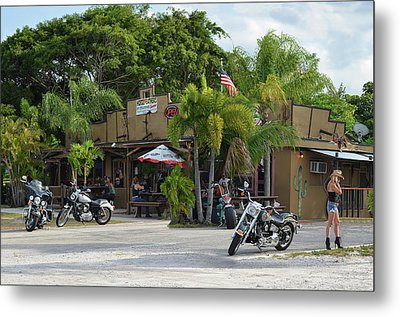 American Roadhouse Metal Print