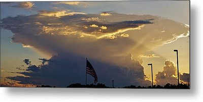 American Supercell Metal Print