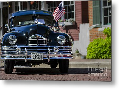 Metal Print featuring the photograph Americana by Andrea Silies