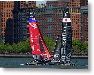 America's Cup World Series New York Metal Print by Susan Candelario