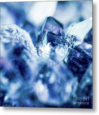 Metal Print featuring the photograph Amethyst Blue by Sharon Mau
