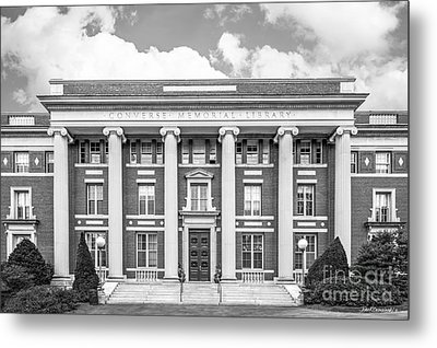 Amherst College Converse Hall Metal Print by University Icons