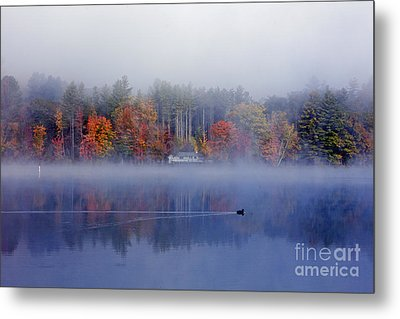 Amherst Lake Vt Metal Print