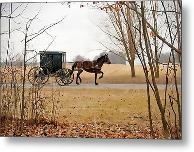 Amish Dream 1 Metal Print
