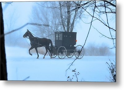 Amish Dreamscape Metal Print