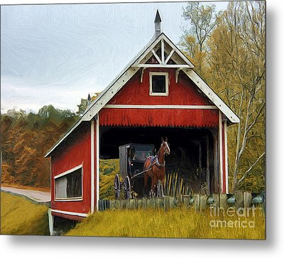 Amish Era Metal Print