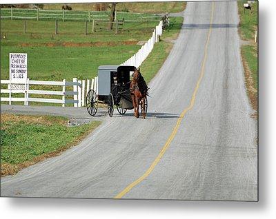 Amish Life Metal Print by Joyce Huhra