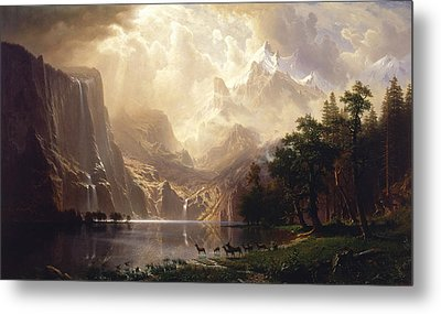 Among The Sierra Nevada Metal Print