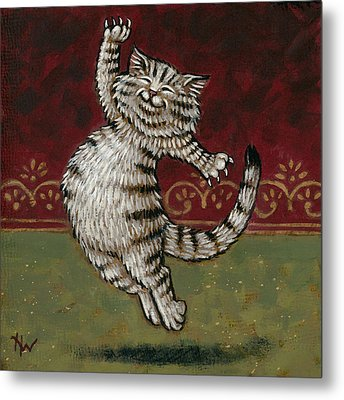 Amos Loved Rossini Metal Print by Holly Wood