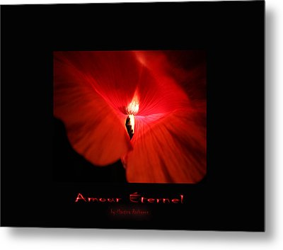 Amour Eternel Metal Print