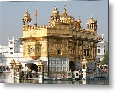 Metal Print featuring the photograph Amritsar by Andrei Fried