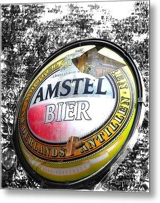Amstel Bier  Metal Print by Steven Digman