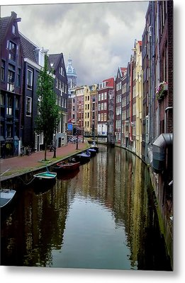 Amsterdam Metal Print by Heather Applegate