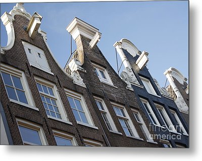 Metal Print featuring the photograph Amsterdam by Wilko Van de Kamp