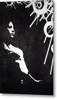 Amy Metal Print by Erik Paul